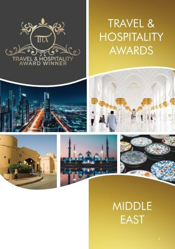 Middle East Awards Winners