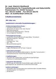 Dr. med. Dietrich Muhlhardt Facharztpraxis für Frauenheilkunde und ...