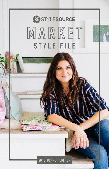 REstyleSOURCE Market Style File | Summer 2018