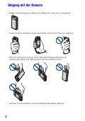 Sony MHS-PM5 - MHS-PM5 Consignes d'utilisation Allemand - Page 6