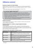 Sony MHS-PM5 - MHS-PM5 Consignes d'utilisation Roumain - Page 5