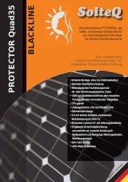 PR O TECT OR Quad35 BLA CKLINE - TST Photovoltaik Shop TST ...