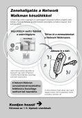 Sony NW-E305 - NW-E305 Istruzioni per l'uso Ungherese - Page 6