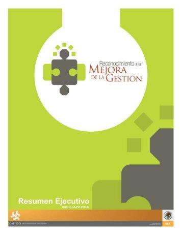 Resumen ejecutivo - Secretaría de Educación Pública