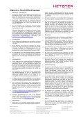 Einzugsermächtigung - Hetzner Online AG - Seite 3