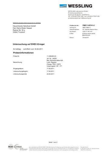 Art.nr. 34029, Chargen 7502 + 8079 - HEUSCHRECKE Naturkost ...