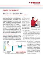 minol informiert - Haus und Eigentum Verwaltung Stuttgart GmbH
