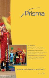 PRISMA - Ausgabe 15 - der Waldorfschule Chemnitz