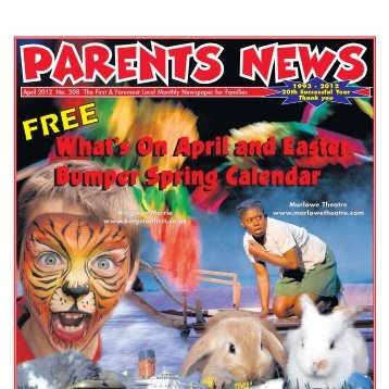 What's On April and Easter Bumper Spring Calendar ... - Parents News