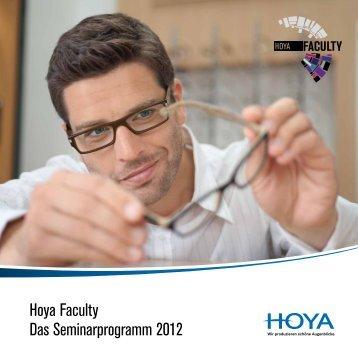 Hoya Faculty Das Seminarprogramm 2012 - scholten-training