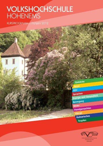 glatthaar - Volkshochschule Hohenems