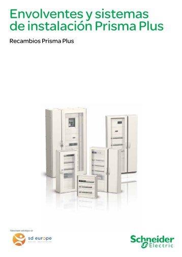 Envolventes y sistemas de instalación Prisma Plus - Schneider Electric