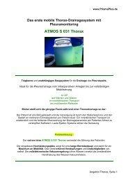 ATMOS S 031 Thorax - PrismaPlus