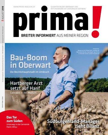 prima! Magazin - Ausgabe August 2018