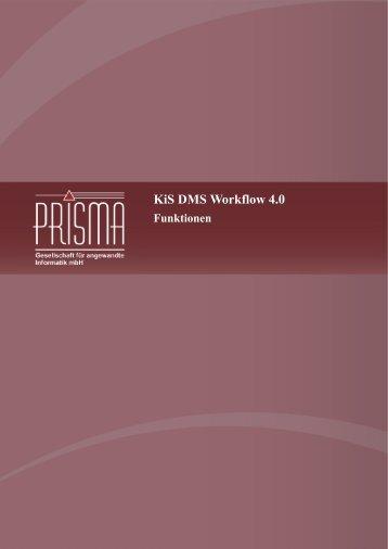 (Workflow) definieren - Prisma