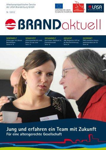 Nr. 1/2012 (PDF) - LASA Brandenburg GmbH