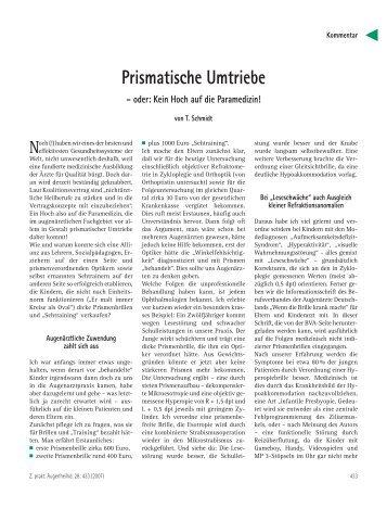 Prismatische Umtriebe - augenaerzte-schmidt.de