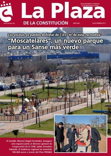 """""""Moscatelares"""", un nuevo parque para un sanse más verde ..."""