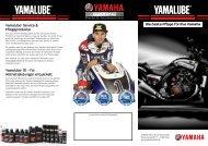 Yamalube-Pflegeprodukte - Yamaha Motor Europe
