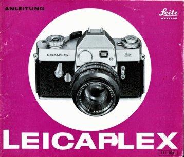 Leicaflex BAL_V-66 - Fotomechanik Reinhardt