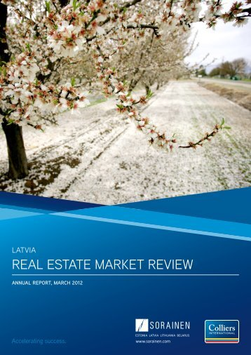 Latvia Real Estate Market Review 2012 - Colliers International