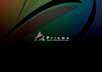 our services - Prisma Media & Marketing services