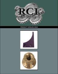 RCI 2018 Product Catalog