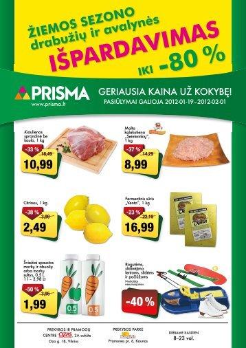 ŽIEMOS SEZONO drabužių ir avalynės IKI -80 ... - Prisma