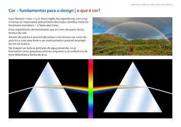 Cor – fundamentos para o design - Ana Sofia, Design Gráfico