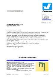 Viessmann Neuheiten 2011 Sperrfrist: 28.01.2011 Viessmann ...