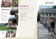 TAG DER OFFENEN TÜR 2012 - Seehaus Leonberg