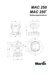 MAC 250 MAC 250 - SINUS Event-Technik GmbH