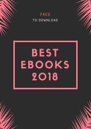 Best Ebooks 2018 (Free To Download)