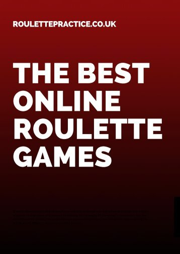 The Best Roulette Games Magazine
