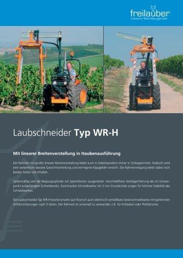 Laubschneider Typ WR-H - Freilauber