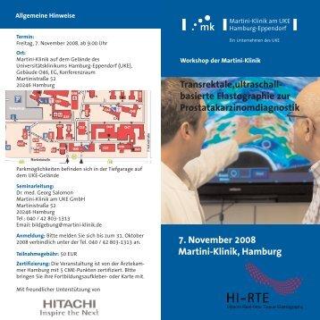 Transrektale,ultraschall - Hitachi Medical Systems