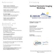 Contrast Harmonic Imaging Workshop - Hitachi Medical Systems