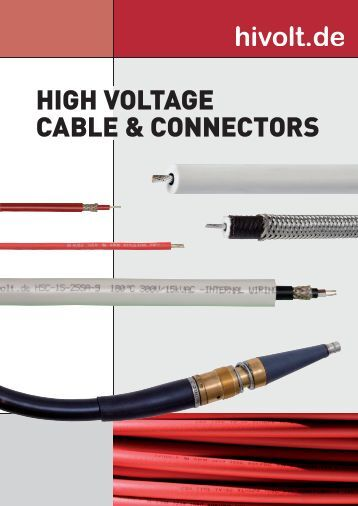 Shielded HV Cable - hivolt.de