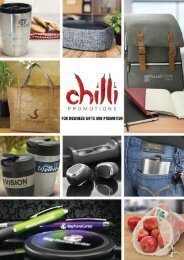 Chilli Promotional Product Idea Book