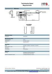 Technische Daten - HLM Elektronik
