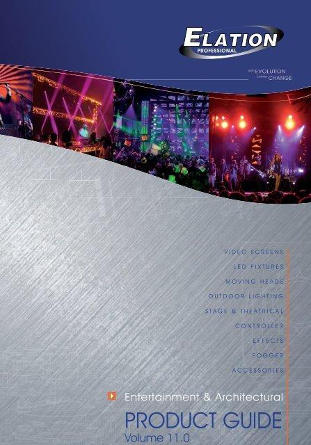 Elation Katalog 2011 NEU_Elation Katalog 2009