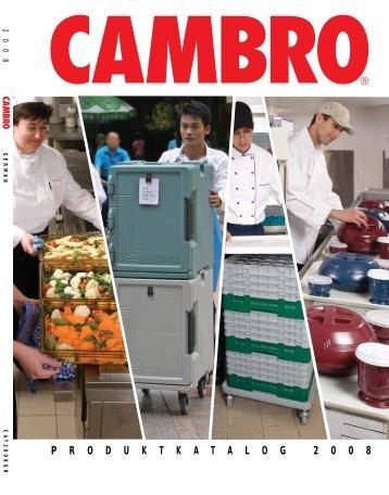 Cambro Katalog 2008