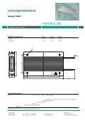 Leistungswiderstand - HLM Elektronik - Seite 3
