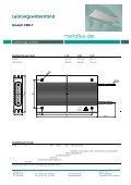 Leistungswiderstand - HLM Elektronik - Seite 5