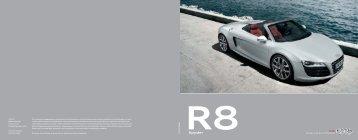 R8 Spyder - Audi
