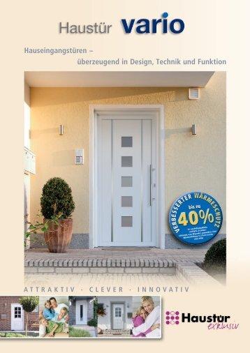 Hauseingangstüren – überzeugend in Design, Technik und Funktion