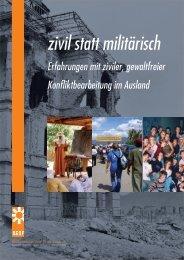 zivil statt militärisch - Aktionsgemeinschaft Dienst für den Frieden