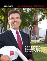 College of Law Finalizes Plans for New Building - S.J. Quinney ...