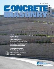 Designs ASONRY - National Concrete Masonry Association
