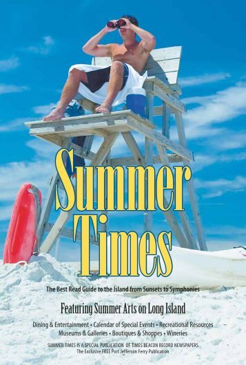 Featuring Summer Arts on Long Island - Times Beacon Record ...